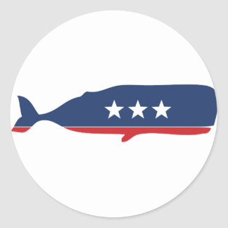 Party Animal - Whale Sticker