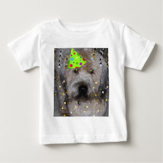 Party Animal Wheaton Terrier Baby T-Shirt