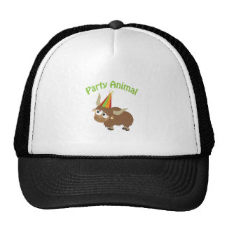 Party Animal Yak Mesh Hat