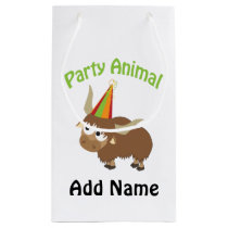 Party Animal! Yak Small Gift Bag