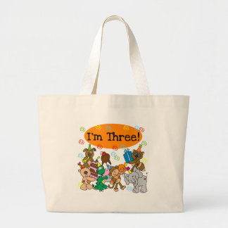 Party Animals 3rd Birthday Tshirts Bag