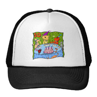 Party Animals 50th Birthday Gifts Trucker Hat
