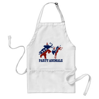 Party Animals Adult Apron