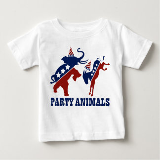 Party Animals Baby T-Shirt