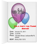 Party Animals Card Template