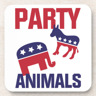 Party Animals Coaster