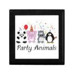 Party Animals Keepsake Boxes