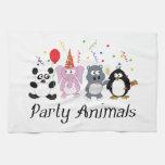 Party Animals Kitchen Towel