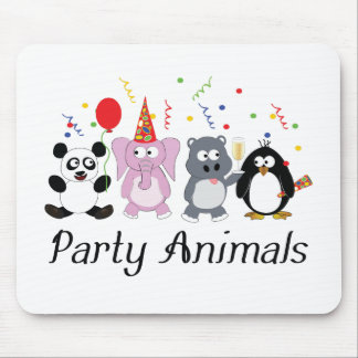 Party Animals Mouse Pad