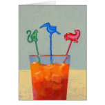 Party Animals note card