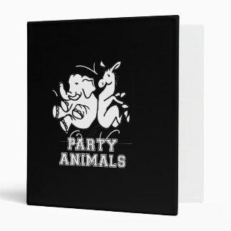 PARTY ANIMALS png Vinyl Binders