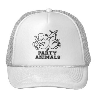 PARTY ANIMALS.png Mesh Hat