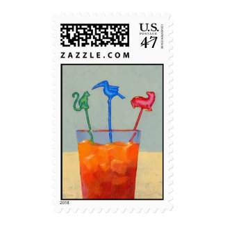 Party Animals postage stamp