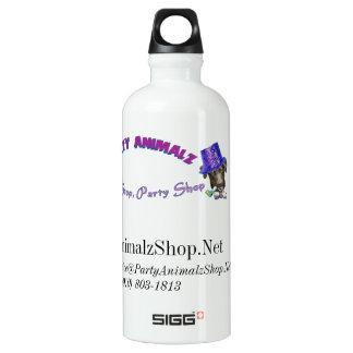 Party Animalz Shop Aluminum Water Bottle