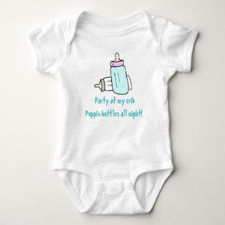 Party at my crib baby bodysuit
