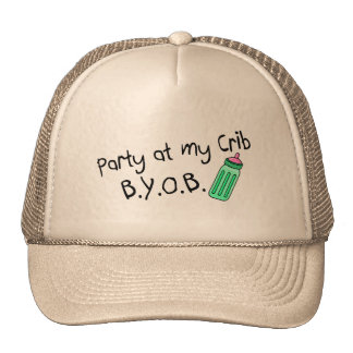 Party At My Crib Trucker Hat