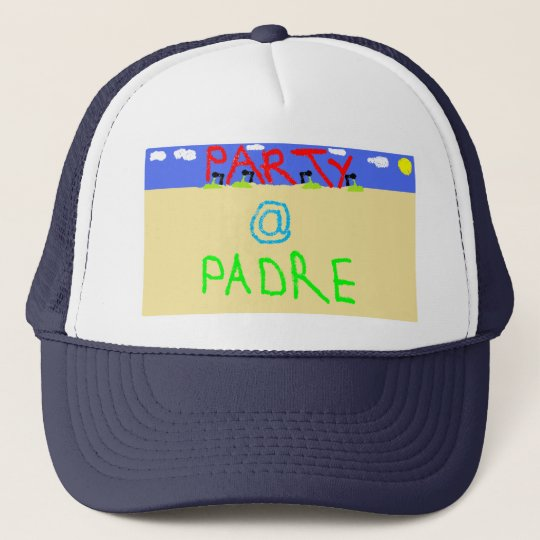 Party at Padre  Party Animals Navy Cap