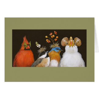 party at the Aviary card