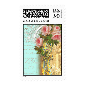 Party at Versailles in Aqua Postage