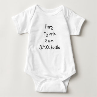Party Baby Tee Shirt