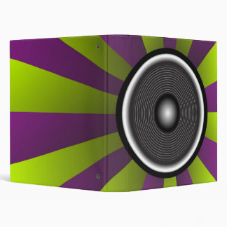 Party Background 3 Ring Binder