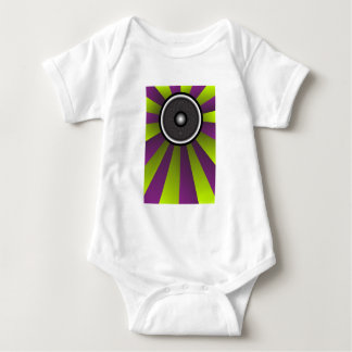Party Background Baby Bodysuit