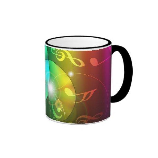 Party Background Ringer Mug