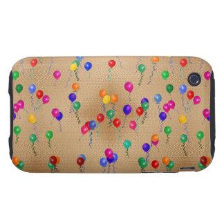 Party Ballons iPhone 3 Tough Case