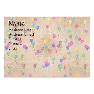 Party Ballons Large Business Card