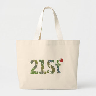 Party Balloon 21st Birthday Gifts Tote Bags