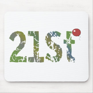 Party Balloon 21st Birthday Gifts Mouse Pad