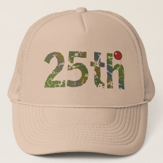Party Balloon 25th Birthday Gifts Trucker Hat