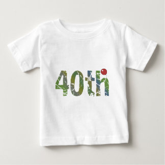 Party Balloon 40th Birthday Gifts Baby T-Shirt