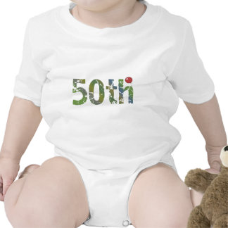 Party Balloon 50th Birthday Gifts Bodysuits