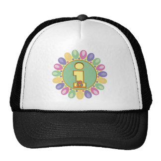 Party Balloon 5th Birthday Gifts Trucker Hat