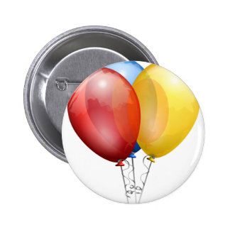 PARTY BALLOONS 2 INCH ROUND BUTTON