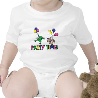 Party Balloons Baby Creeper