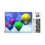 Party Balloons & Bubbles Postage