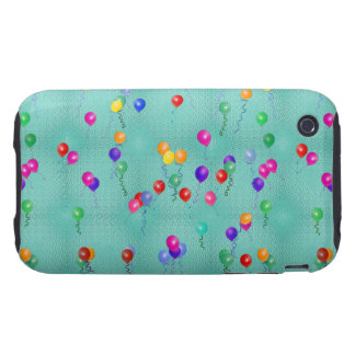 Party Balloons iPhone 3 Tough Covers