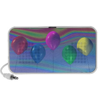 Party Balloons Doodle Speaker