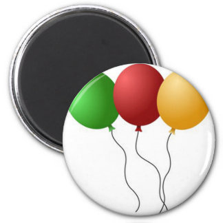 PARTY BALLOONS REFRIGERATOR MAGNETS