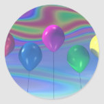 Party Balloons Sticker