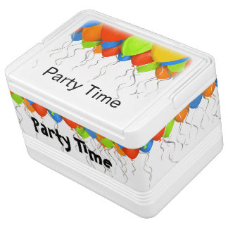 Party Balloons Theme Drink Cooler