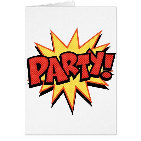 Party Bang Card