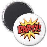 Party Bang Fridge Magnets