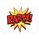 Party Bang Post Cards