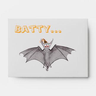 Party Bat - Batty About Halloween! Envelopes