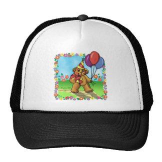 Party Bear Birthday Trucker Hat
