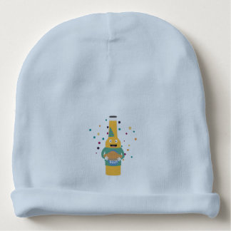 Party Beer Bottler with Cake Z4zzo Baby Beanie