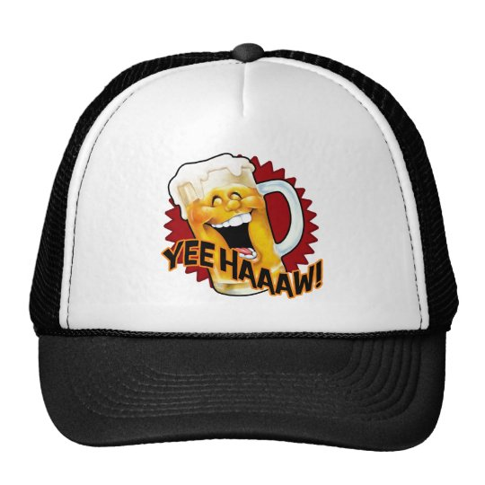 Party Beer! Time to party like a redneck! Trucker Hat